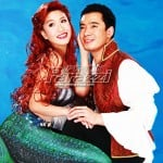 Erik Santo's in his musical theater debut as The Prince in The Little Mermaid