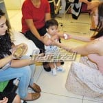 Rufa Mae at Gwen, nag-baby sit