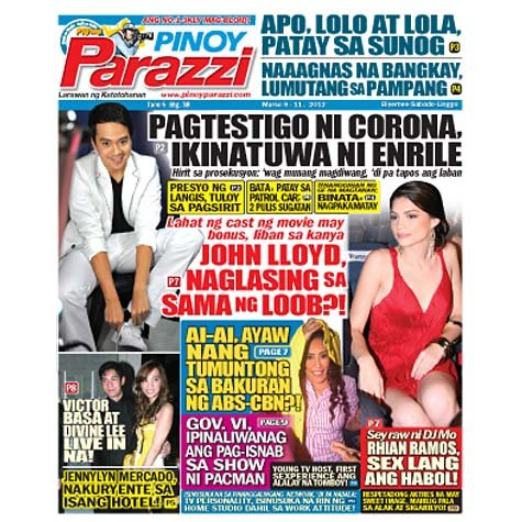 Pinoy Parazzi Vol 5 Issue 38 March 9 - 11, 2012