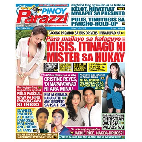 Pinoy Parazzi Vol 5 Issue 85  July 2 -3, 2012 Out Now!