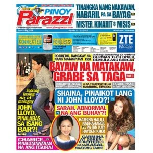 Pinoy Parazzi Vol 5 Issue 106  August 22 - 23, 2012 Out Now!