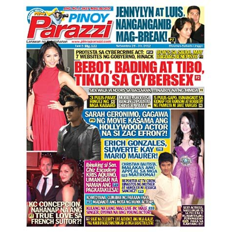 Pinoy Parazzi Vol 5 Issue 122 September 28 - 30, 2012-1