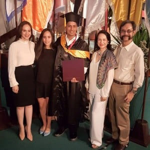 Richard Gomez With Cong. Lucy Torres-Gomez, Juliana and In-Laws