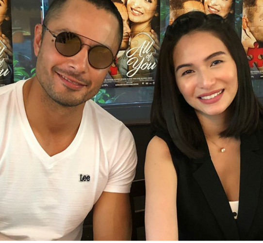KAMPANTE LANG: Hot scenes ni Derek Ramsay with Jennylyn Mercado, hindi isyu sa GF