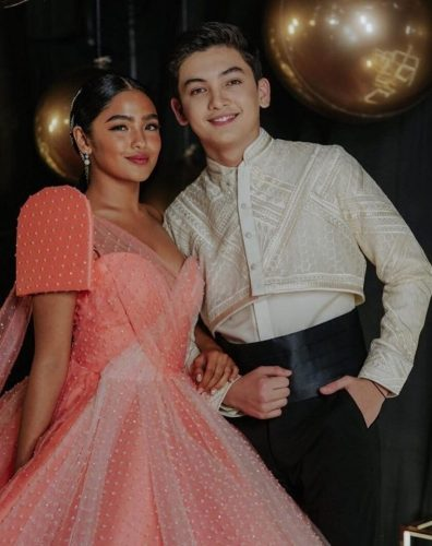 SETH FEDELIN and ANDREA BRILLANTES: A Golden Young Love Story
