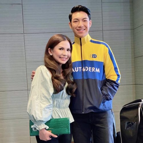 Rhea Tan, dream come true na makuhang brand ambassador si Darren Espanto for Beautederm